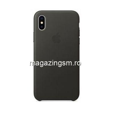 Husa iPhone XS Silicon Gri