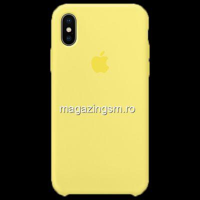 Husa iPhone XS / X Silicon Lemonade