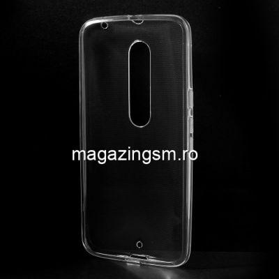 Husa Motorola Moto X Style TPU Transparenta