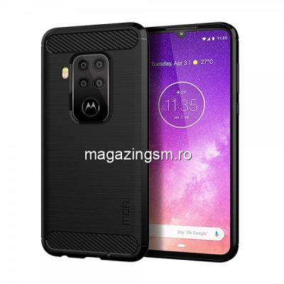 Husa Motorola One Zoom TPU Neagra