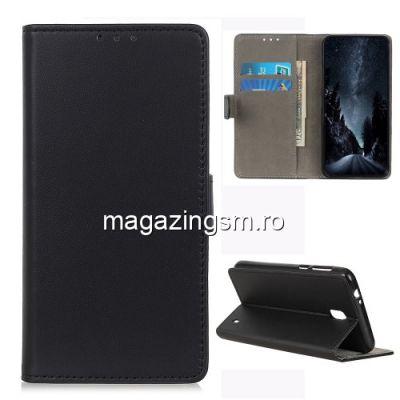 Husa Nokia 1 Plus Flip Cu Stand Neagra