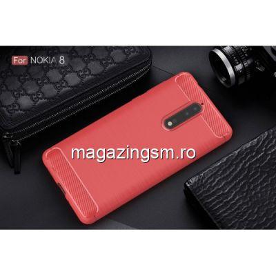 Husa Nokia 8 Carbon Rosie