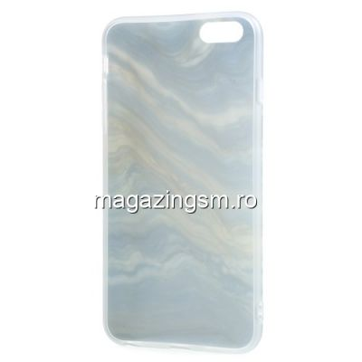 Husa Protectie iPhone 6 / 6S TPU Marble Patern Colorata