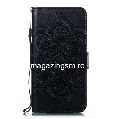Husa Samsung Galaxy A20e Flip Cu Stand Neagra