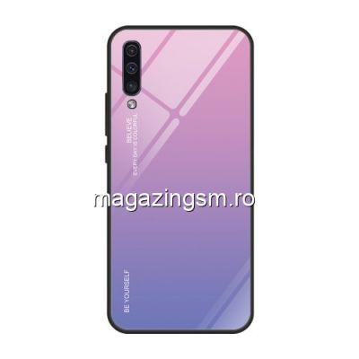Husa Samsung Galaxy A50 Cu Spate Din Sticla Colorata