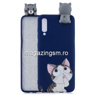 Husa Samsung Galaxy A70 TPU Albastra