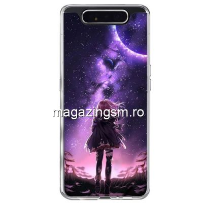 Husa Samsung Galaxy A80 / A90 TPU Muticolora