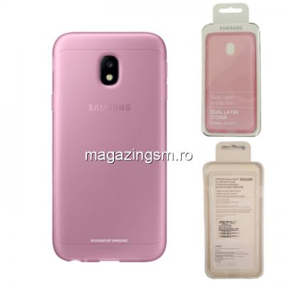 Husa Samsung Galaxy J3 J330 2017 EF-AJ330TPEGWW Silicon Roz