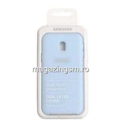 Husa Samsung Galaxy J3 J330 2017 EF-PJ330CLEGWW Silicon Albastra