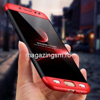 Husa Samsung Galaxy J5 J530 2017 Acoperire Completa 360 De Grade Matuita Rosie