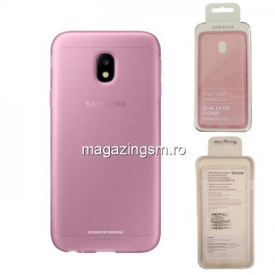 Husa Samsung Galaxy J5 J530 2017 EF-AJ530TPEGWW Silicon Roz