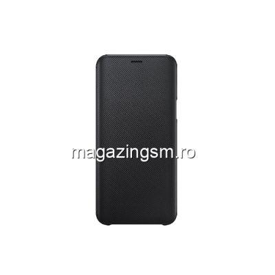 Husa Samsung Galaxy J6 J600 2018 EF-WJ600CBEGWW Flip Cu Stand Neagra