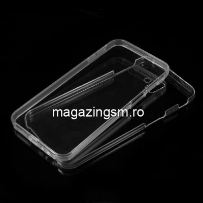 Husa Samsung Galaxy J6+ J610 2018 Acoperire Completa 360 De Grade Transparenta