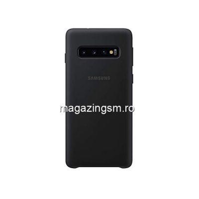 Husa Samsung Galaxy S10 Silicon Neagra