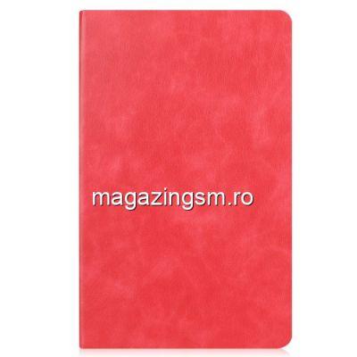 Husa Samsung Galaxy Tab 10,1 2019 T515 Flip Cu Stand Rosie