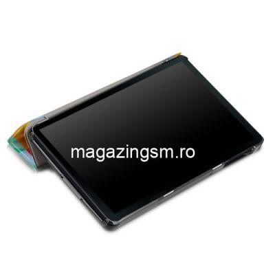 Husa Samsung Galaxy Tab A 10,1 2019 T515 / T510 Flip Cu Stand Colorata