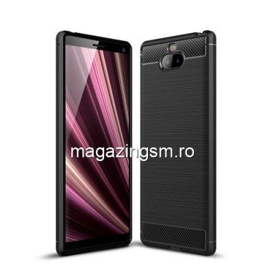 Husa Sony Xperia 10 TPU Carbon Neagra