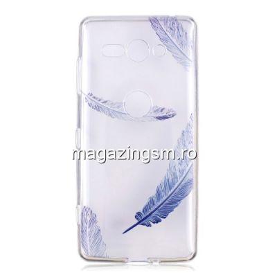Husa Sony Xperia XZ2 Compact TPU Cu Model Transparenta