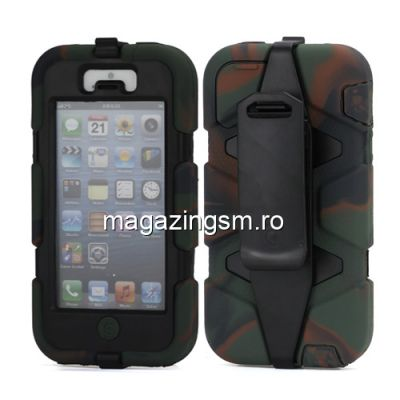 Husa Survivor iPhone 5 Camuflaj