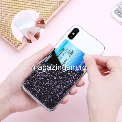 Husa Tip Suport Slot Card Huawei Samsung iPhone Nokia LG Universala