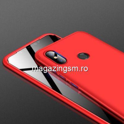 Husa Xiaomi Mi 8 SE Acoperire Completa 360 De Grade Matuita Rosie