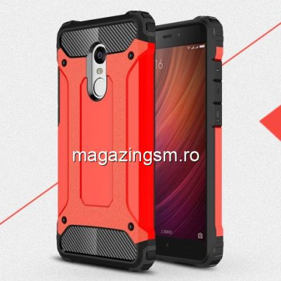 Husa Xiaomi Redmi Note 4 Dura Rosie