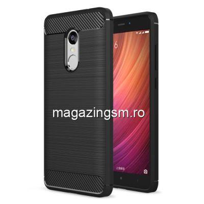 Husa Xiaomi Redmi Note 4 /  Note 4X TPU Carbon Neagra
