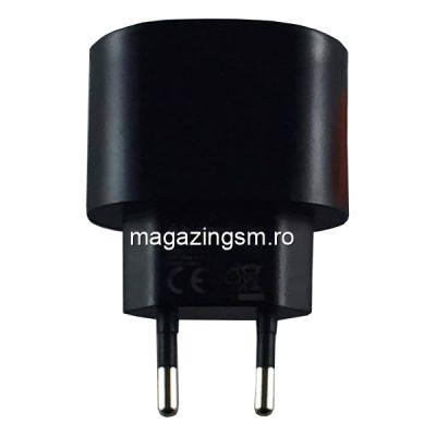 Incarcator Dual-USB Universal 5V Bigben 1A Swap Negru/Alb