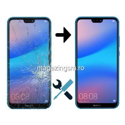 Inlocuire Display Huawei P20 Lite Negru (Montaj + Ecran)