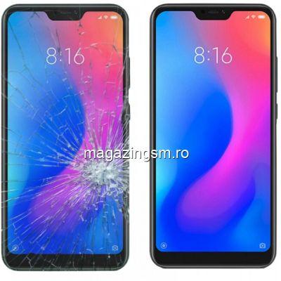 Inlocuire Geam Sticla Display Xiaomi Mi 8 Negru