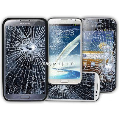 Inlocuire Geam Sticla Display Samsung Galaxy A8 A530F 2018 Negru