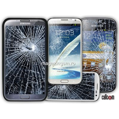 Inlocuire Geam Sticla Display Samsung Galaxy S6 G925F Edge Albastru