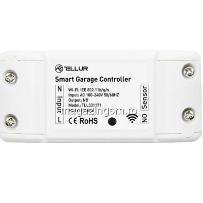 Kit control usa garaj WiFi Smart Tellur Alb