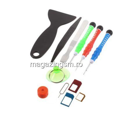 Kit Surubelnite Reparatie iPhone 4 4s 5 5s 5c 6 6 Plus 6s 6s Plus Samsung HTC LG Nokia Cu Adaptor SIM