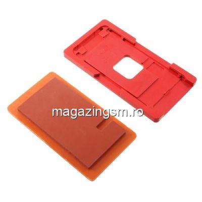 Model Aliniere Display TouchScreen Si Geam Pentru iPhone 8