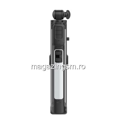 Monopod Wireless Bluetooth Selfie Stick Samsung iPhone Huawei Asus Cu Telecomanda Negru