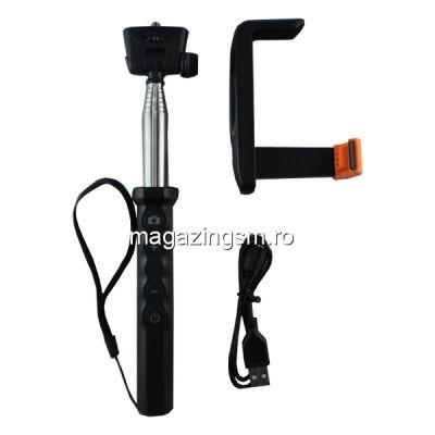 Monopod Extensibil Pentru Selfie-uri Cu Control Wireless Si Suport Telefon ZP-09 Universal