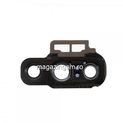 Ornament Camera Spate Cu Geam Huawei P20 Pro Mov