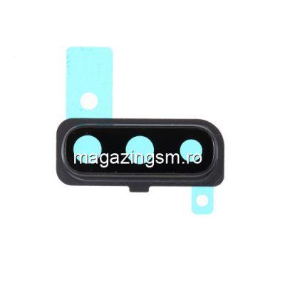 Ornament Camera Spate Cu Geam Si Rama Samsung Galaxy A50 A505 Negu
