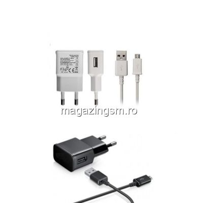 Pachet Incarcatoare 2A Cu Cablu MicroUSB (10 bucati)