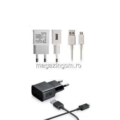 Pachet Incarcatoare 2A Cu Cablu MicroUSB - 10 Bucati