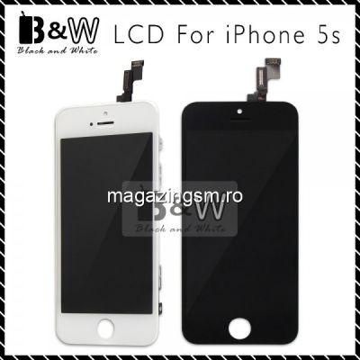 Pachet Display-uri iPhone 5 5S - 4buc (Albe + Negre)