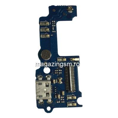 Placa Circuit Cu Conector Incarcare Si Microfon Huawei Y6 Pro Originala