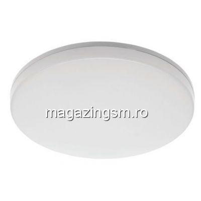 Plafoniera LED WiFi, 24W, lumina alba/calda, rotunda