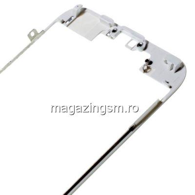 Rama Display iPhone 6s Cu Adeziv Alba