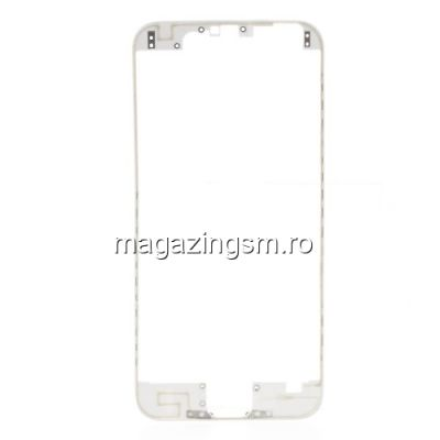 Rama Display iPhone 6 Cu Adeziv Alb