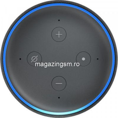 Resigilat Boxa Amazon Echo Dot 3, Alexa, Negru