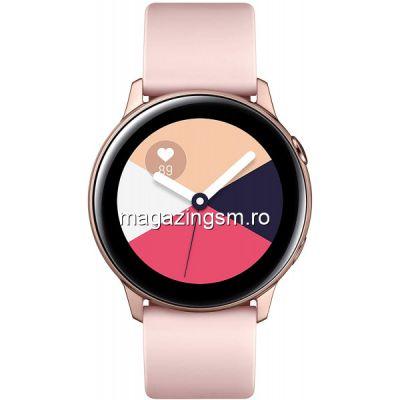 Resigilat Ceas Smartwatch Samsung Galaxy Watch Active 2 40 mm Wi-Fi Aluminum Pink Gold