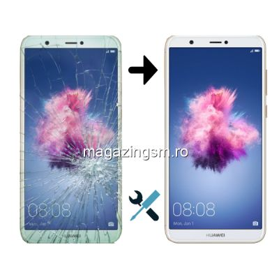 Schimbare Display Huawei P Smart Alb (Montaj + Ecran)
