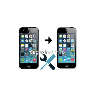 Schimbare Display iPhone 5s Negru (Manopera + Ecran)